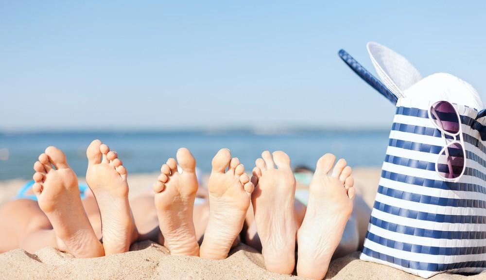 Здрави и красиви стъпала през лятото