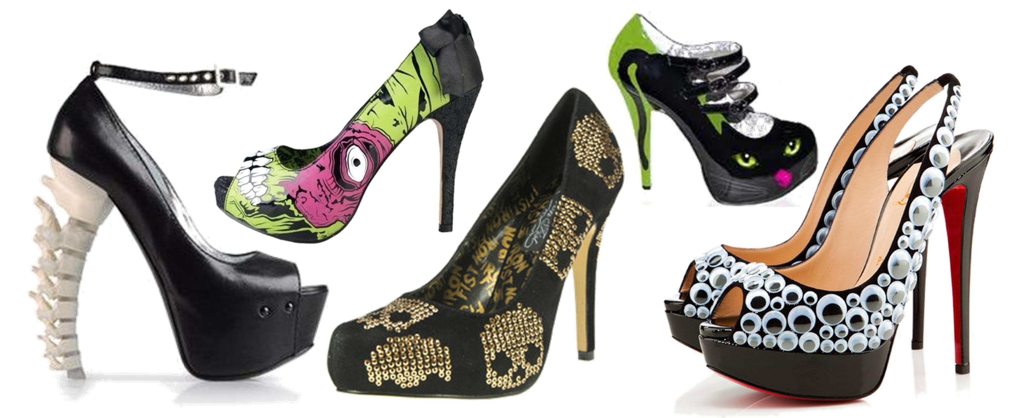 20 идеи за Хелоуин обувки!