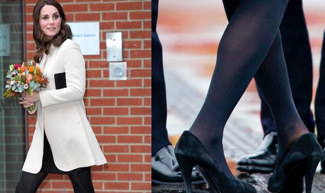 Вижте тайната на Кейт Мидълтън за нейните обувки!